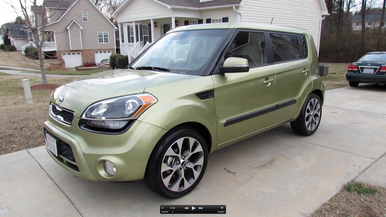 Kia Soul: Starting the engine