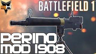 Perino Model 1908 Cómo desbloquear y Reseña Battlefield 1 Guía de Armas ( PizzaHead )