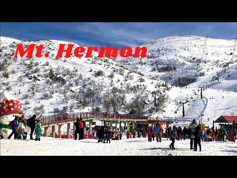 Mt. Hermon Israel |Golan Heights | Ski Resort