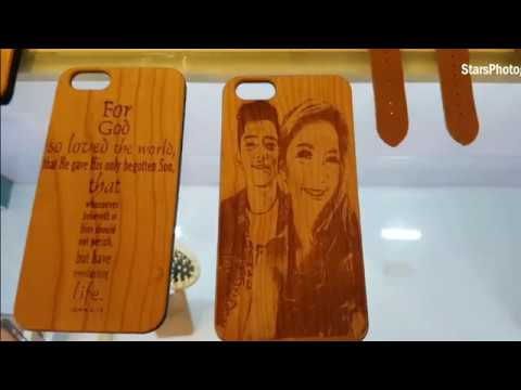 How To Make A Cool  Personalized Wood Cellphone  Case! PICTURE on Your Cellphone Case? COOL!