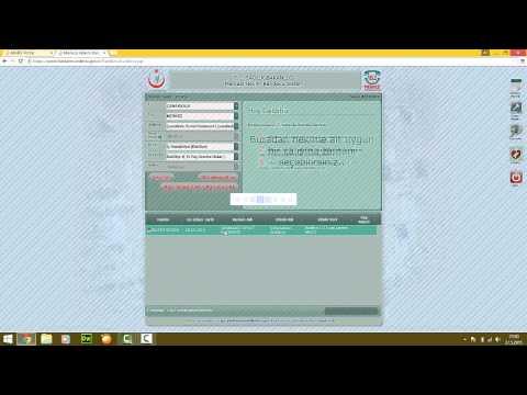 İnternetten Randevu Alma - MHRS( Merkezi Hekim Randevu Sistemi)