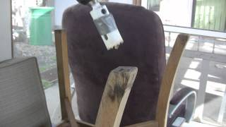 Making A Rocking Chair From Your Old Broke In Chair
