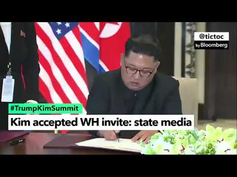 Trump Accepted Invitation to Pyongyang: NK State Media