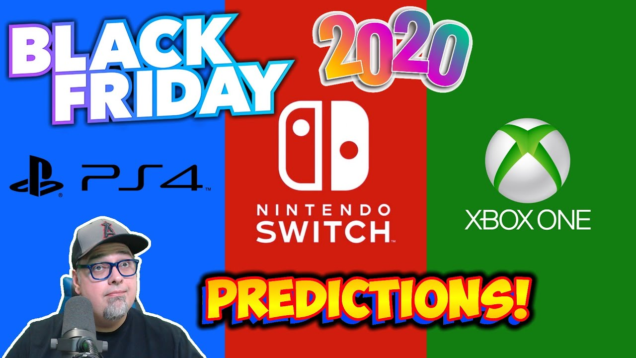 Black Friday 2020 Video Game Deals Predictions! Switch, Playstation & Xbox Sales!