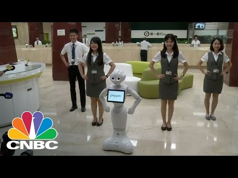 Softbank's 'Pepper' Robot Is Now Global | CNBC