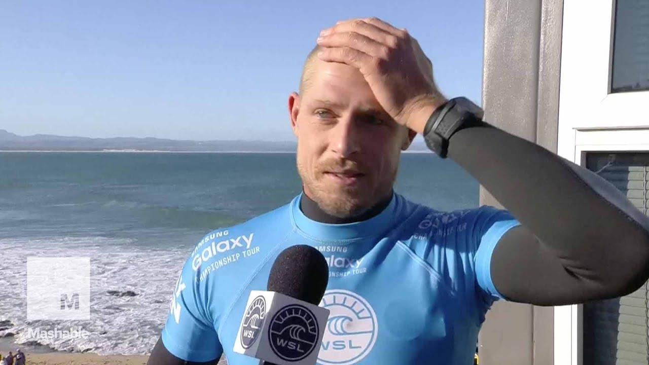 Surfer Mick Fanning After Shark Attack ...