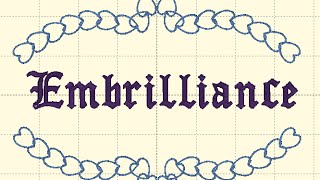 Learn to Digitize Embroidery:  Embrilliance Quilt Block