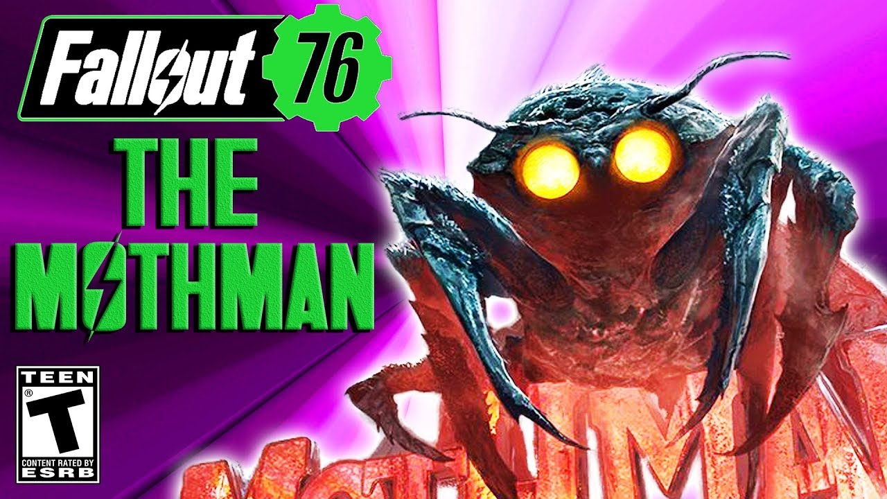 Fallout 76 The Mothman YouTube