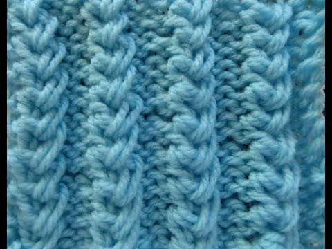 """Knit Pattern * EASY """"""""BABY CABLES """""""" *"""