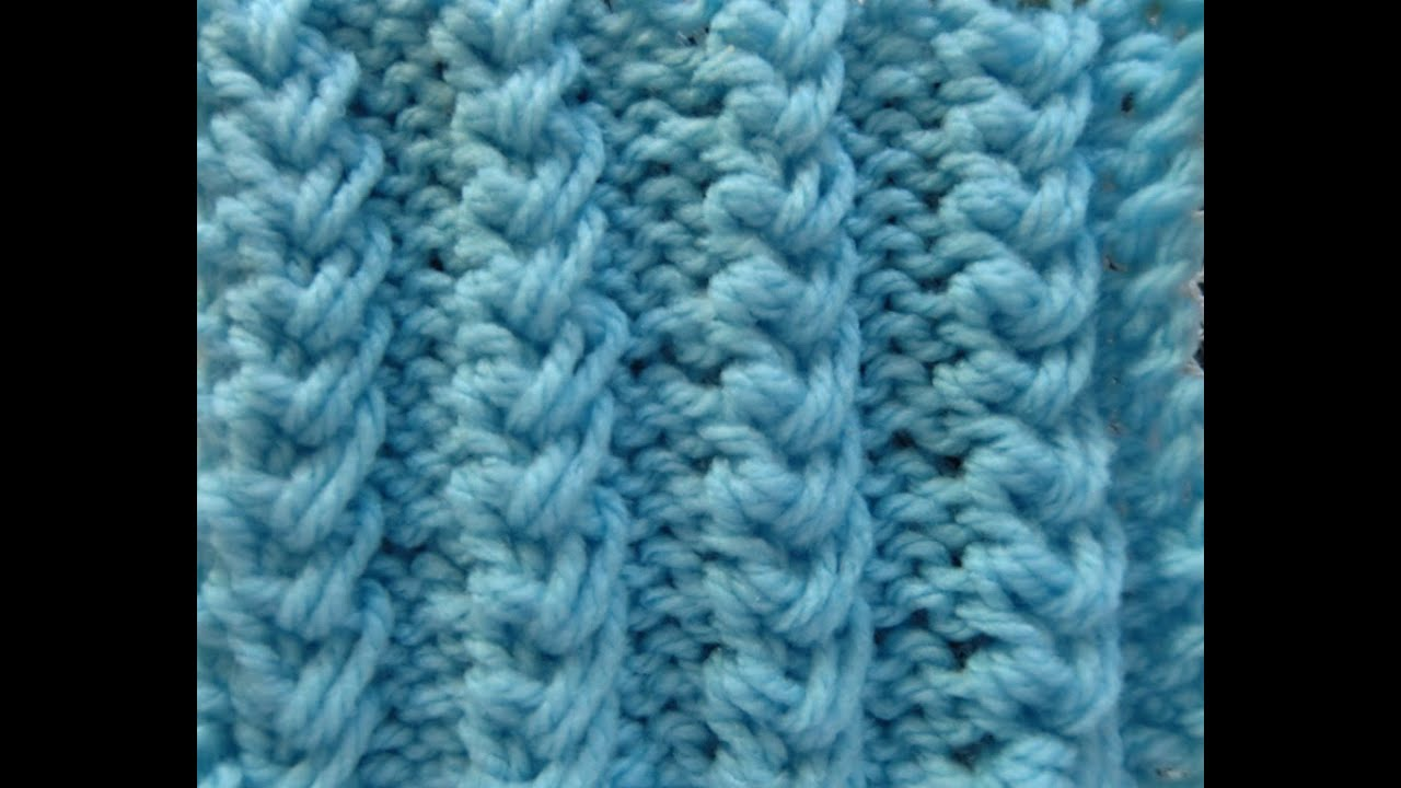 Knit Pattern Easy Baby Cables Youtube