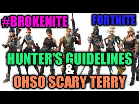 Fortnite Try Hard Stream (PS4 LIVE) Hunter's Guidelines W/ OhSo Scary Terry