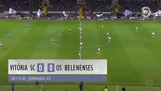 Video Gol Pertandingan Vitoria Guimaraes vs Belenenses