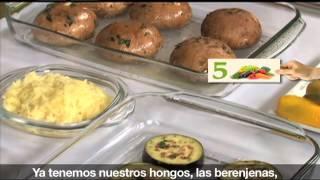 """Hongos portobello rellenos [""""Revista del Consumidor TV"""" 5.1]"""