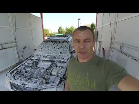 Мойка двигателя на автомобиле