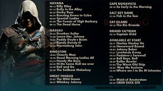 Repeat youtube video 35 Sea Shanties (57-36 full track) - AC4 Black Flag In Game Soundtrack