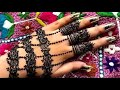 Latest Beautiful arabic jewellery henna mehndi design for hands || girly easy mehndi || eid 2019