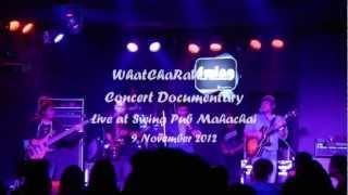 2. ร่มสีเทา  - WhatChaRaWaLee Concert Documentary Live@Swing Pub Mahachai Thailand