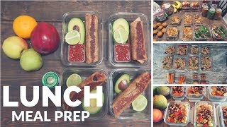 Lunch Meal Prep || 5 recipes