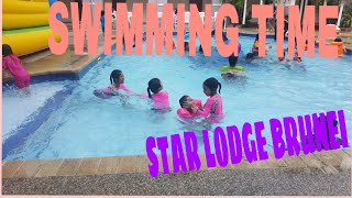 SWIMMING TIME @STAR LODGE HOTEL