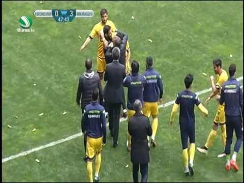 Kayseri Erciyesspor 1-4 MKE Ankaragücü (Maç Özeti)