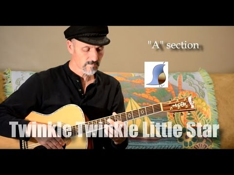 Twinkle Twinkle Little Star - Easy Guitar Lesson