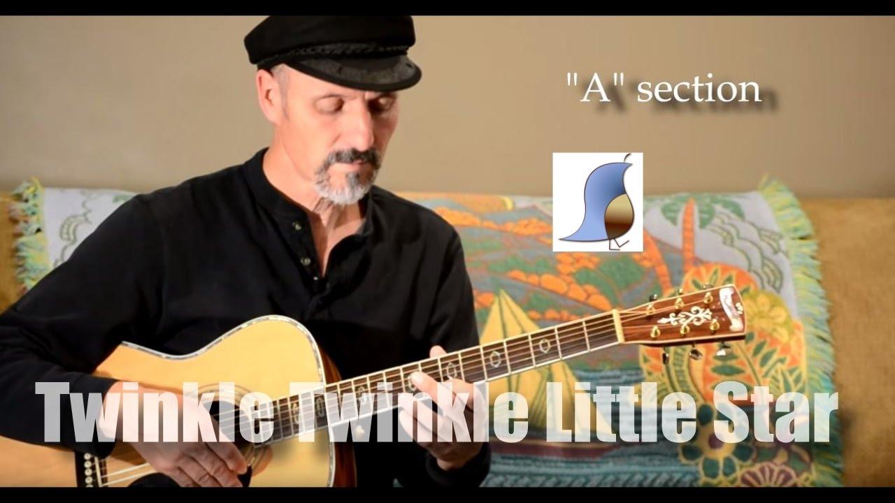 Twinkle Twinkle Little Star Easy Guitar Lesson Youtube