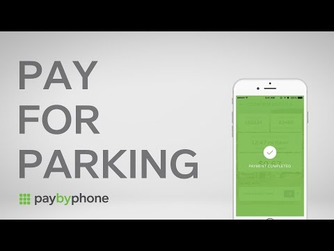 How to Pay for Parking with PayByPhone