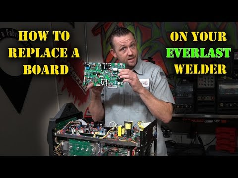 TFS: How To Replace A Board On Your Everlast Welder