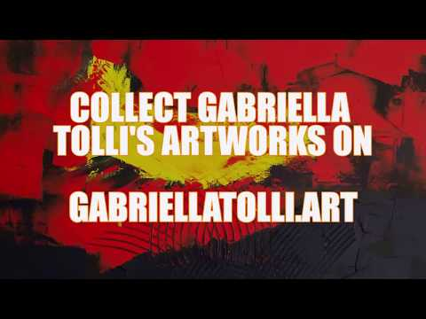 MODERN ART ON CANVAS FOR SALE : Gabriella Tolli 's Abstract Expressionism