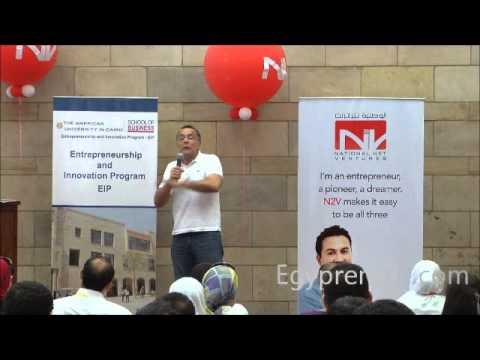 Fadi Ghandour @fadig CEO of @Aramex Speech at #SWCairo