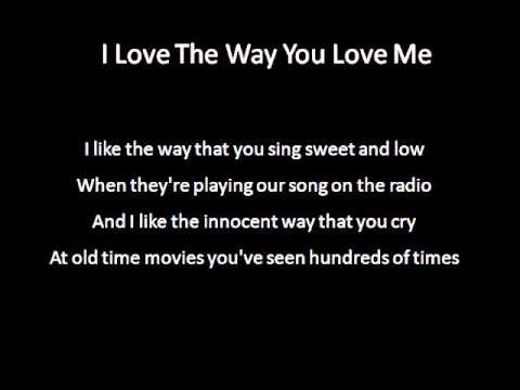 I Love The Way You Love Me - Eric Martin Cover