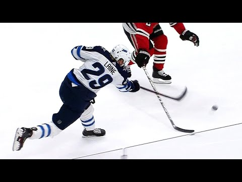 Laine streaks in and unleashes wrist shot for 20th goal of season