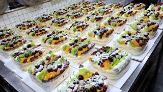 ТОП 5, Изготовление восхитительных тортов на фабрике тортов - корейская уличная еда