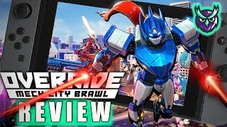 Override Mech City Brawl Switch Review-MECH BRAWLER! (Video Game Video Review)