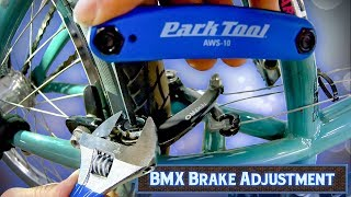 How To Adjust BṀX Brakes