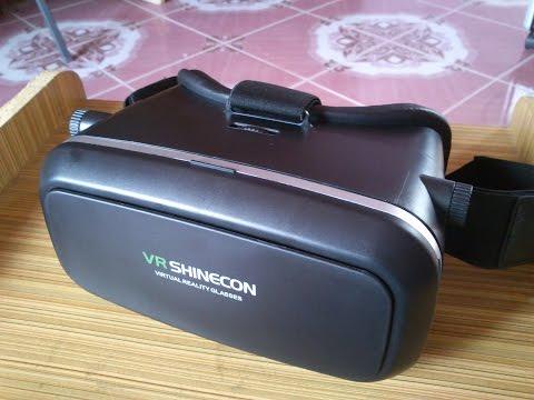 รีวิว VR shinecon แว่น3มิติสำหรับดูหนังเล่นเกมส์ราคาไม่แพง สอบถาม-สั่งซื้อline ID :aboyza
