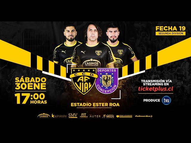 Fernández Vial VS Deportes Concepción