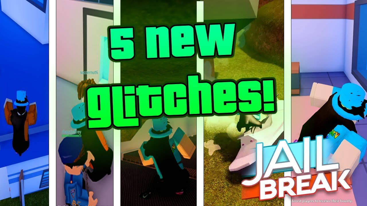 5 Jailbreak Glitches in 1 Video    (Roblox)