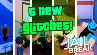 5 Jailbreak Glitches in 1 Video... (Roblox)