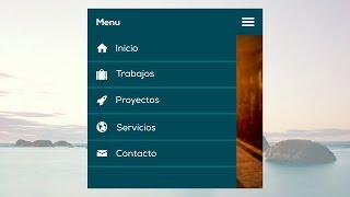 Como hacer un menú de navegación adaptable a dispositivos móviles (Responsive Design)
