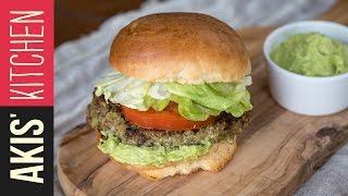Veggie Burgers  Akis Kitchen