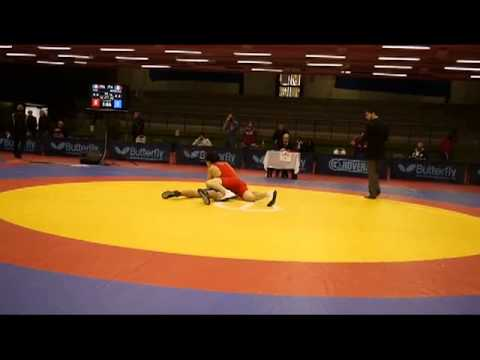 Judoka vs. wrestler in freestyle wrestling - Coppa Italia di Lotta SL 2012