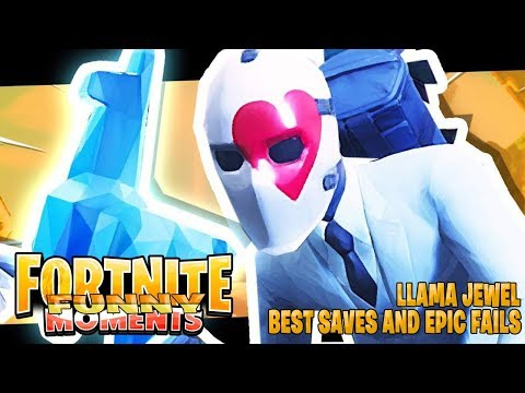Fortnite Moments | The Llama Jewel Best Saves and Epic Fails! Fortnite Twitch Funny Moments