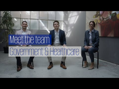 Meet the team: Government & Healthcare