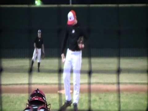 Kyle Cross Pitching for Wharton County Junior College (video 5)
