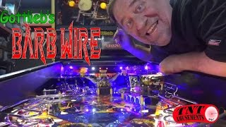 #958 Gottlieb BARB WIRE Pinball Machine with Pamela Anderson - Only 1000 made! TNT Amusements