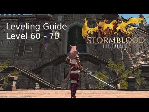 FFXIV - Leveling Guide - level 60 - 70 - YouTube