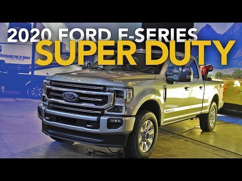2020 Ford F-Series Super Duty - First Look
