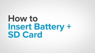 GoPro: How To - Insert Your Battery + SD Card