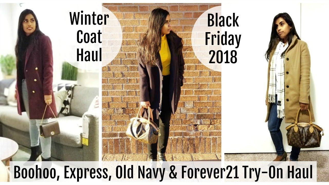 19e05ddff28e Black Friday Haul 2018: Boohoo, Express, Old Navy & Forever21 - Samadhi  Herath